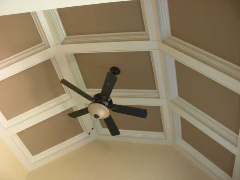 Vaulted Coffered Ceiling : Warner Creations